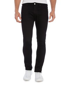 Religion Noize Skinny Fit Black Jeans