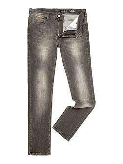 Noize Skinny Fit Light Grey Jeans