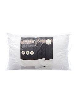 Soft and light pillow pair