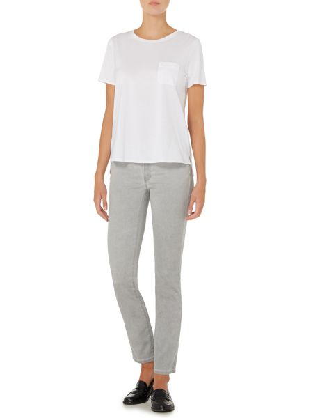 Max Mara Sassari cotton tee with pocket