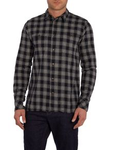 Anerkjendt Steven regular fit small check shirt
