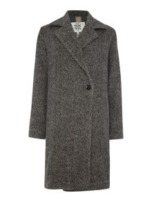 Noa Noa Herringbone coat