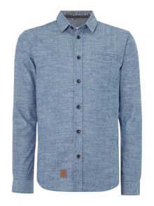 Anerkjendt Figo regular fit denim chambray shirt
