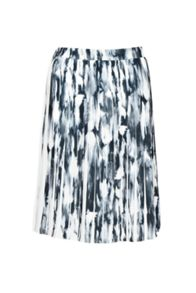 French Connection Ft Record Ripple Pleated Skirt
