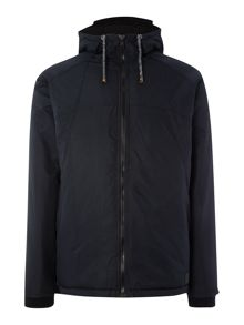 Anerkjendt Weston zip through hooded parka jacket