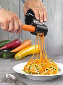 Microplane Spiralizer Cutter In Black