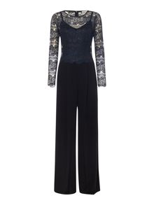 Body Frock The Jessie long sleeve lace top jumpsuit