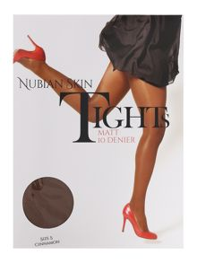 Nubian Skin Cinnamon matte 10 denier tights