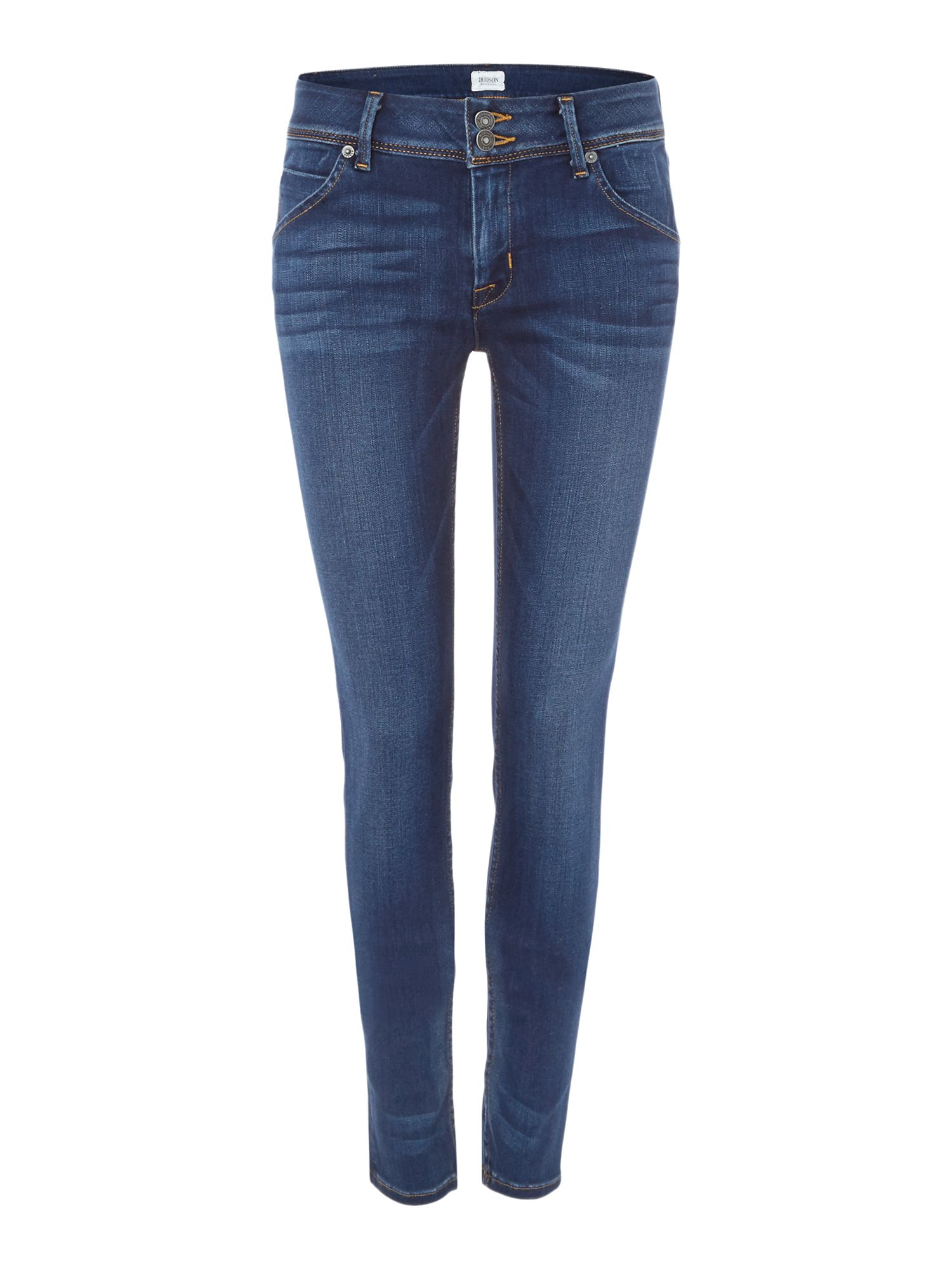 Hudson Jeans Collin mid rise skinny jean in revelation Denim Mid Wash