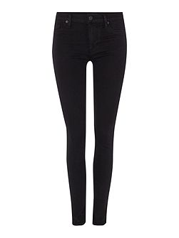 Nico mid rise super skinny jean in black
