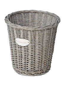 Shabby Chic Wicker waste bin