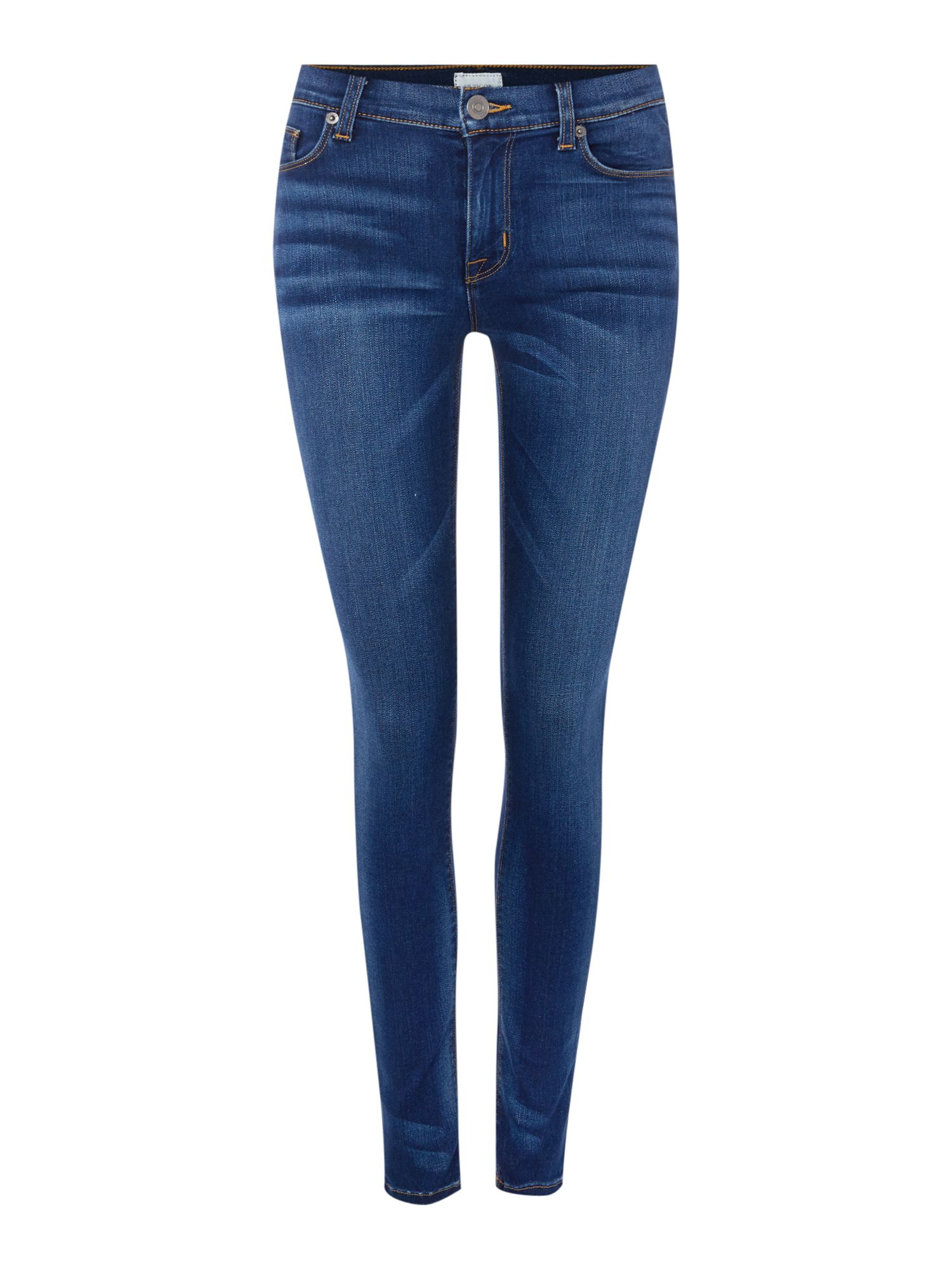 Hudson Jeans Nico mid rise super skinny jean in revelation Denim Mid Wash