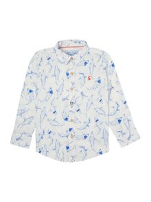 Boys Shark print shirt