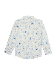 Joules Boys Shark print shirt