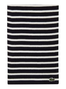Lacoste Boys Striped Scarf