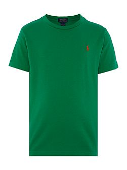 Boys short sleeved crew t-shirt