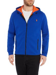 Polo Ralph Lauren Fleece Hooded Zip Through Sweater