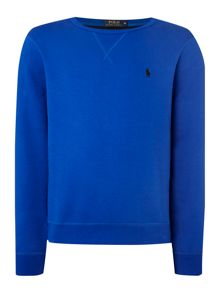 Crew Neck Fleece Lined Sweater