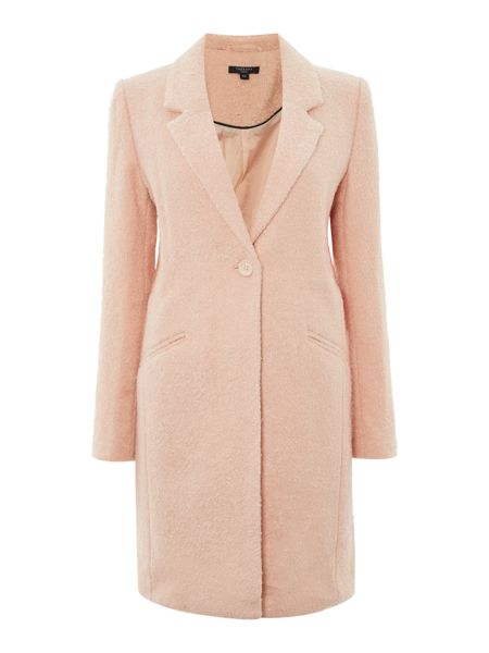 Therapy Boucle boyfriend coat