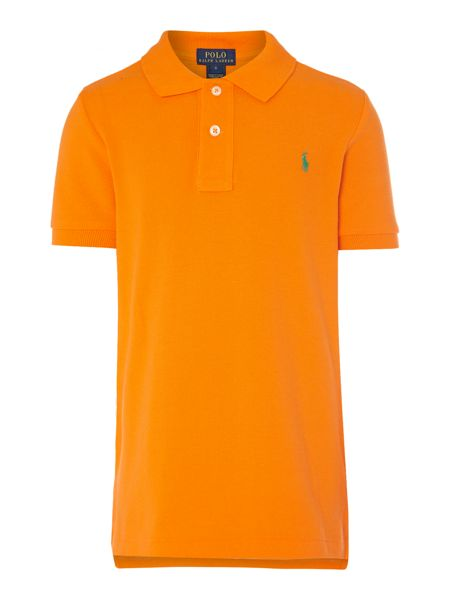 Polo Ralph Lauren Boy short sleeved polo with small pony player