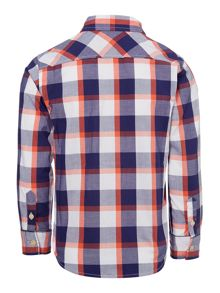 Joules Boys Check long sleeved shirt