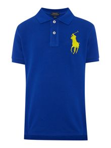 Polo Ralph Lauren Boys short sleeved polo with big pony player