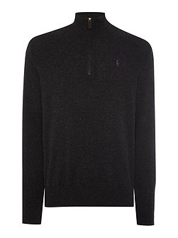 Half Zip Luxury Merino Jumper