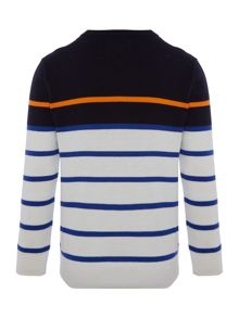 Polo Ralph Lauren Boys crew jumper with small pony player