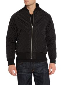 Supremebeing Command Zip Up Quilted Bomber Jacket