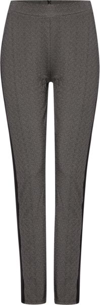 Therapy Texture Contrast Panel Trouser