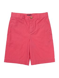 Boys Chino Shorts With Small Pony Player