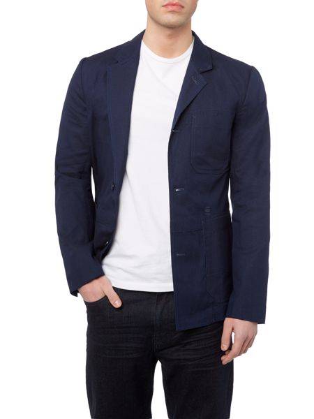 G-Star Shattor Blue Two Button Blazer