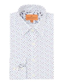 Three Dots Print Shirt