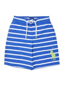 Boys swim shorts with small pony player