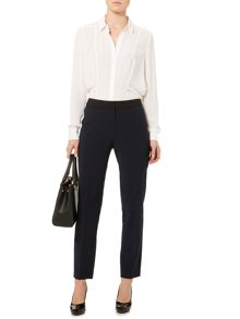 Colourblock tailored trouser