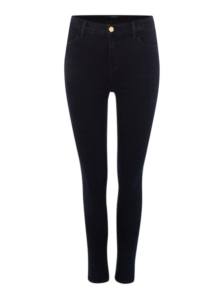 J Brand Maria high rise skinny jean in bluebird