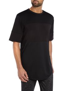 Criminal Damage Vik Oversized Cut-And-Sew Panel T Shirt