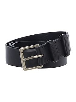 Ralph lauren david leather with pony print belt