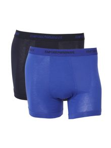 2 Pack of  emporio logo boxer brief