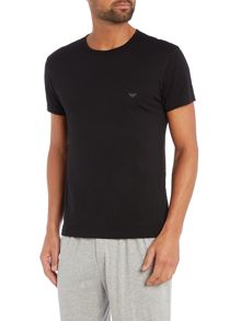Emporio Armani 2 pack of eagle logo t-shirts