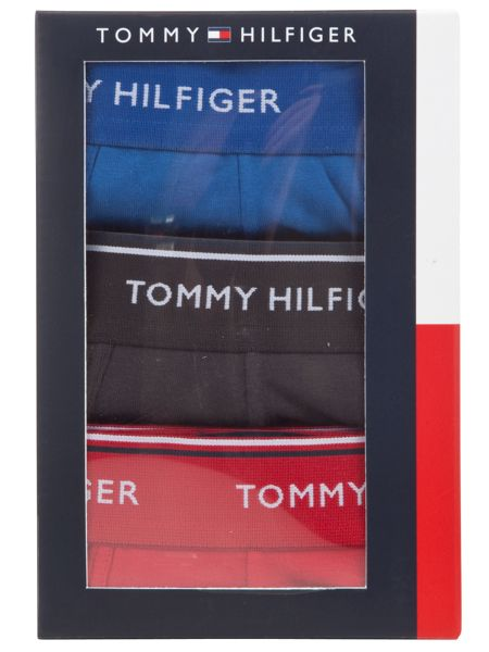 Tommy Hilfiger 3pk solid trunk