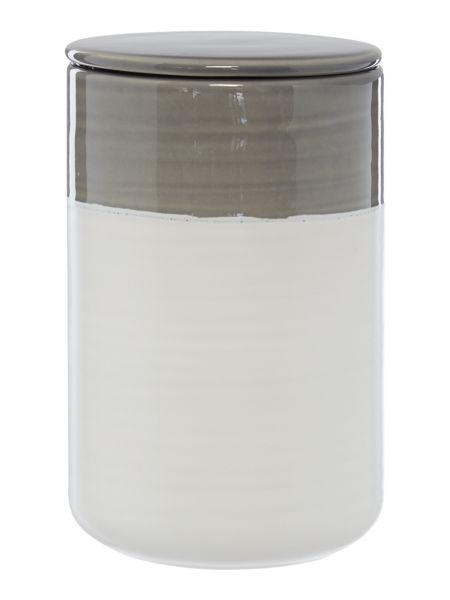 Gray & Willow Large ombre jar