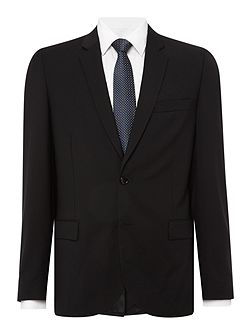 Single Breasted Notch Suit Jacket
