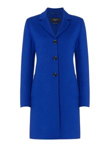 Max Mara Alpaca bright long button up wool coat