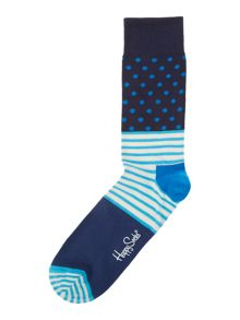 Printed ankle sock