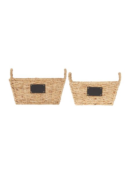 Dickins & Jones Set of 2 Tapered Elsie Baskets