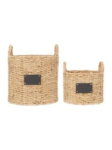 Dickins & Jones Set Of 2 Elsie Basket Range