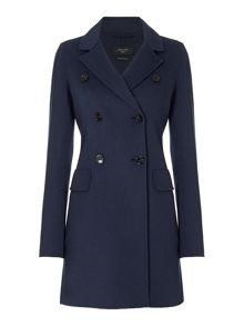 Max Mara Cinese double faced button up wool coat