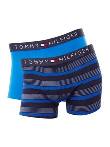 Tommy hilfiger 2pk stripe and solid trunk