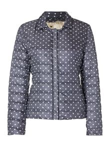 Fresis reversible coat with removable collar